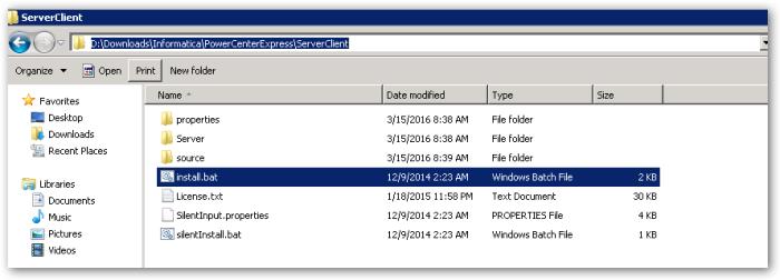 ServerClientFolder