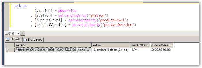 SQLVersion-Experienced-9-00-5266-00