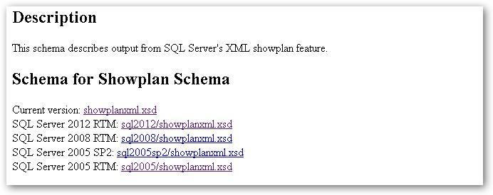 ShowplanSchema