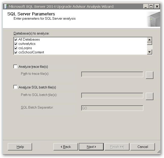 SQLServerParameters