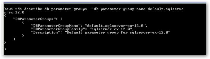 ListSpecificDBParameterGroup
