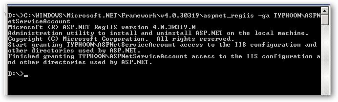 ASPNet-Register-IIS