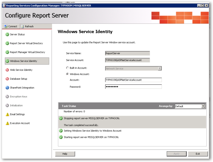 WebServiceIdentity