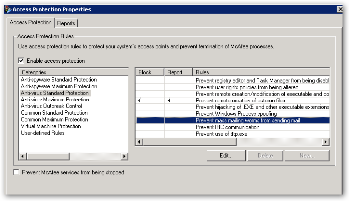 AccessProtectionProperties-AccessProperty-AVStandardProtection