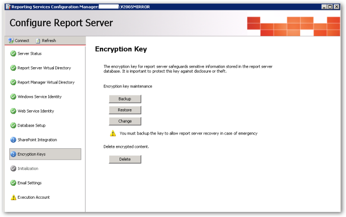 EncryptionKeysList