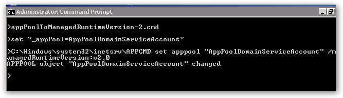 managedRuntimeVersionChangeCommandOutput