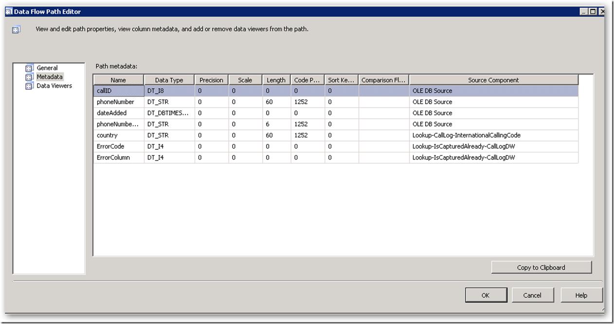 DataFlowPathEditor-CallLogDW-Metadata