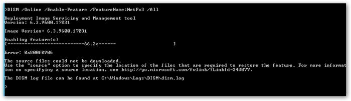 error-0x800f0906
