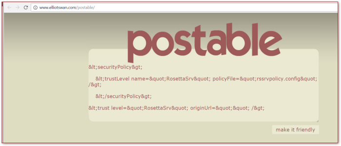 postable-htmlencoded