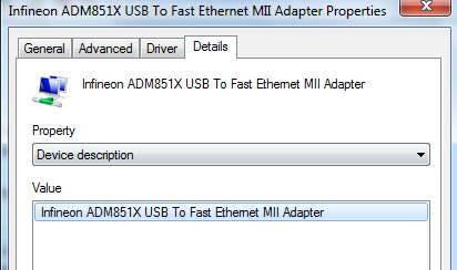 ADM851X USB TO FAST ETHERNET ADAPTER DRIVER (2019)