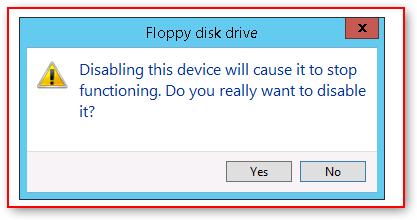 disablefloppydiskdrive