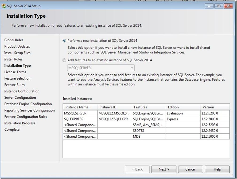 SQLServer-InstallationType