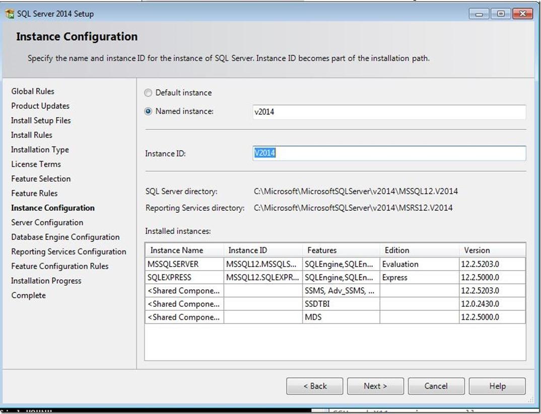 SQLServer-InstanceConfiguration