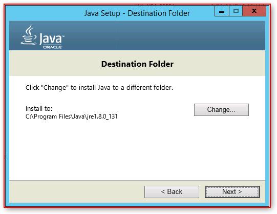 """SQL Server (v2016) – Installation – Blocked – """"Oracle JRE 7 Update"""