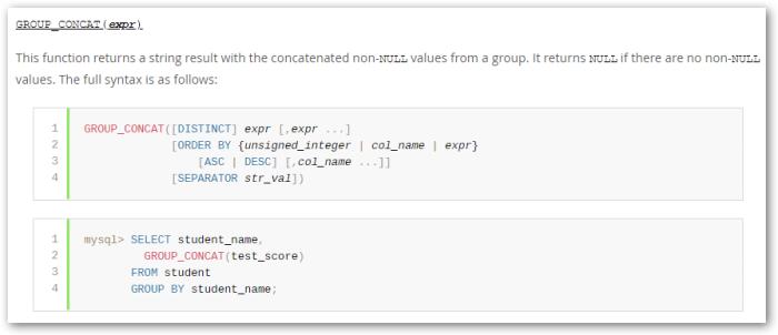 MySQL – information_schema statistics | Learning in the Open