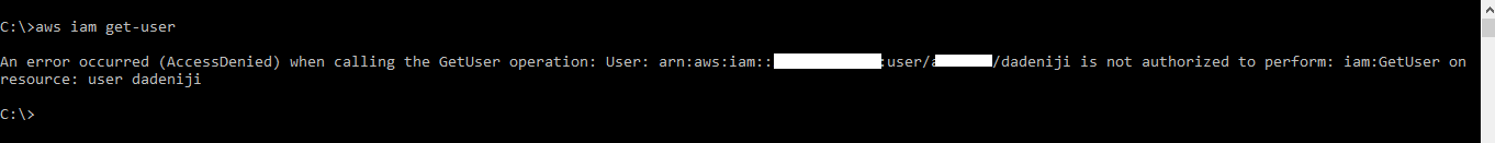 AWS/CLI – AWS Identity and Access Management (IAM) – Basic Commands