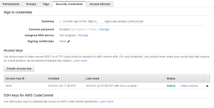 Users.user.IAM.Summary.SecurityCredentials.AccessKeys.20190124.0853AM.PNG