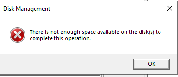 computerManagement.ThereIsNotEnoughSpaceAvailableOnTheDisk.05.20190423.0849PM.PNG