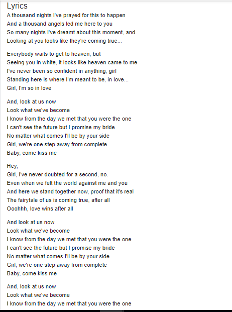 Tryon.ComeKissMe.Lyrics