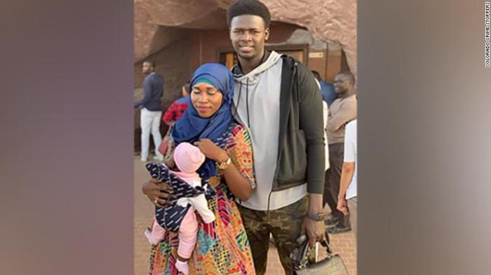 Djibril and Adja Diol were killed in a house fire along with their baby daughter, Khadija.