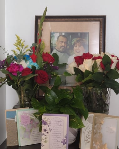 Juliana Jimenez Sesma's parents died 11 days apart in December in South LA.