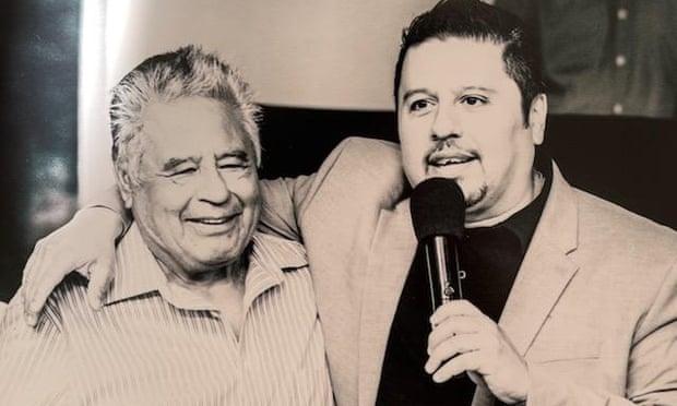 Manuel Lopez Marquez, left.